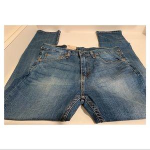 New Men's Levi Strauss Blue Jeans